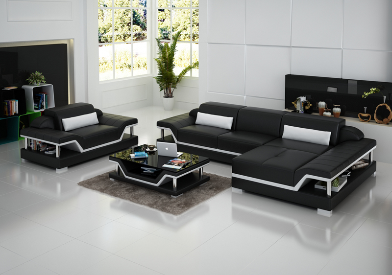 Italian Style Modern Sofa Living Room Furniture Leather Sofa In Living Room S