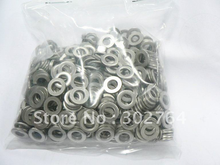 din125 M6*600pcs flat washer STAINLESS STEEL 304 A2(China (Mainland))