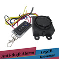 9 16v Remote Control Motorcycle Alarm Scooter Motor Bike 125db Anti theft Security System for suzuki