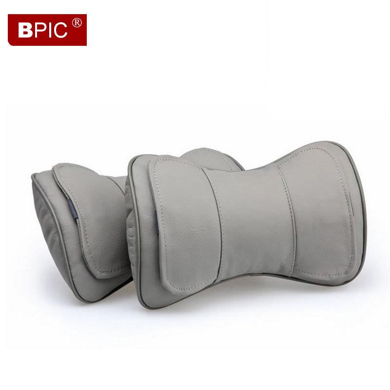 2015 en cuir de si ge de voiture soutien oreiller appui t te lombaire mercedes saison d 39 t de. Black Bedroom Furniture Sets. Home Design Ideas