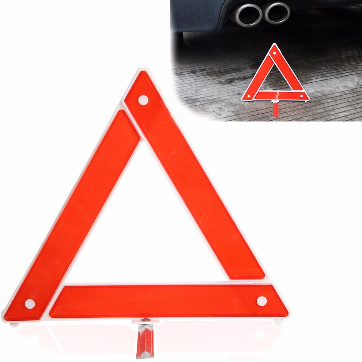 Car Emergency Breakdown Warning Triangle Red Reflective Safety Hazard Travel Kit(China (Mainland))