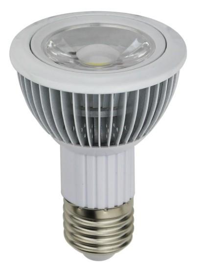 High quality LED PAR20 Ceiling spotlight E27 8W by Fin Heat Sink 8w COB LED 720LM 85-265V<br><br>Aliexpress