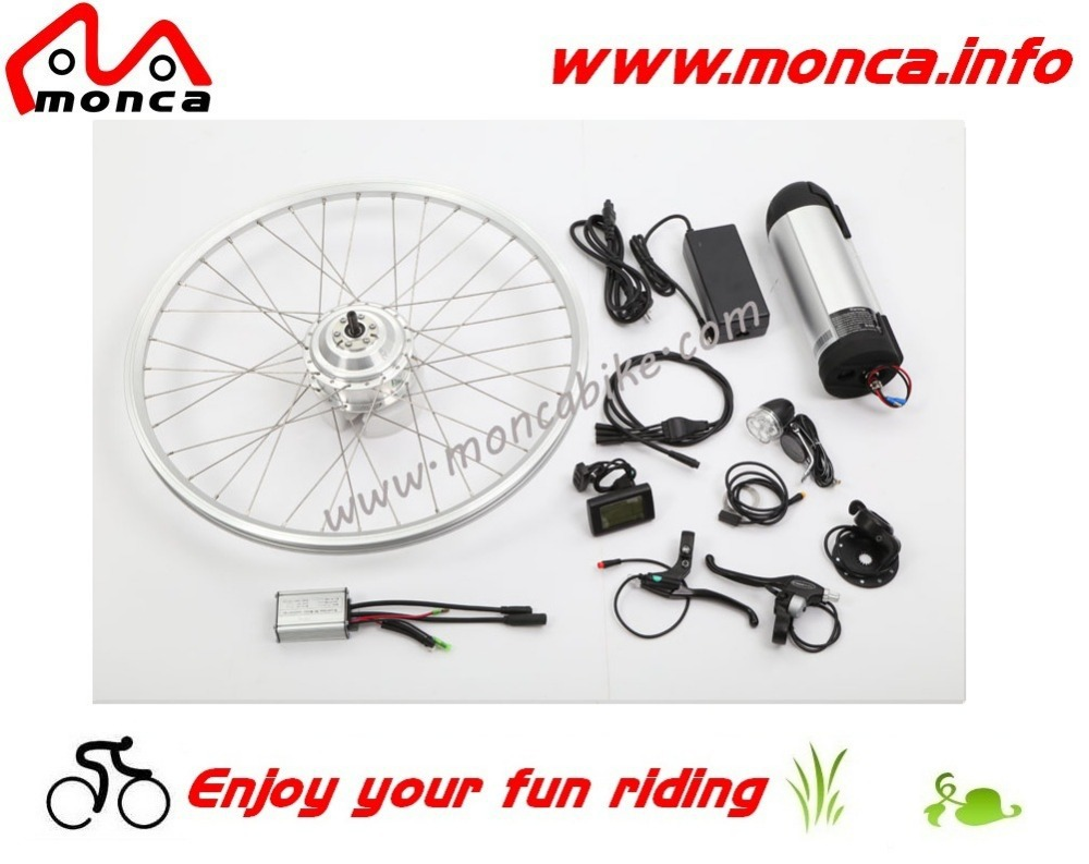 350W DC Hub Motor E Bike Kits with RoHS Approved,36V 10A Long Life Electric Bicycle Battery Contained(China (Mainland))