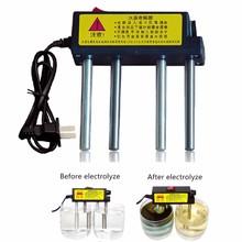 Alta calidad purificadores de agua electrolizador TDS calidad del agua Tester detección de metales pesados Detector aparato de electrólisis del agua