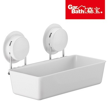 Garbath Bathroom Super Strong Suction Cup Bath Storage Holder Kitchen Rack Shelf holder - Sky Home store
