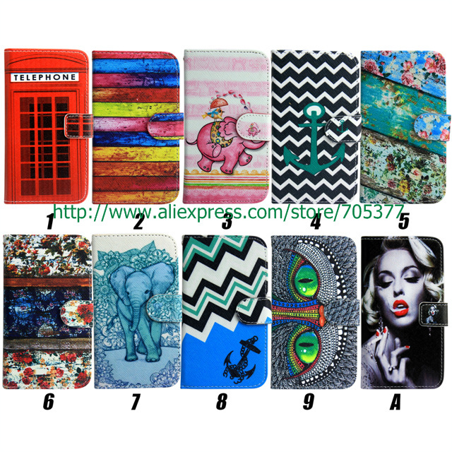 OWL Telephone booth Monroe Stand Wallet Card Leather pouch cover case for Samsung Galaxy s5 case Galaxy s5 cover i9600 G900(China (Mainland))