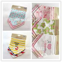 Free shipping 3pc lot 100 cotton baby boys and girls bibs baby towel bandanas chiscarf ldren