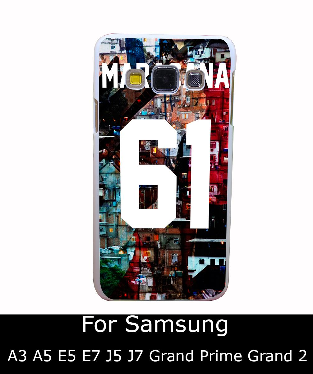 1731Qua Maracana Bambi Eleven Paris 61 Style White Hard Back Cover for Samsung Galaxy A3 A5 A7 A8 E5 7 J5 J7 Grand 2 & Prime(China (Mainland))