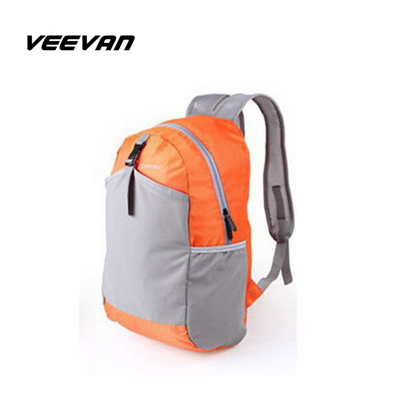VEEVAN 2016 new travel bag waterproof men and women backpack leisure outdoor fun and sport backpacks light easy to carry bag(China (Mainland))