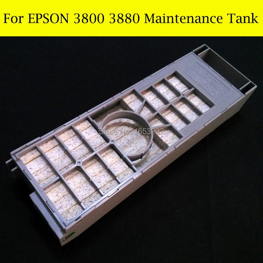 1 Piece Maintenance Tank For Epson Stylus Pro 3800 3880 Printer Waste Ink Tank<br><br>Aliexpress
