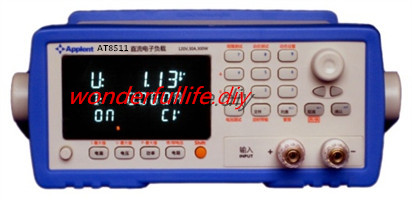 AT8511 DC Electronic Load 150W 120V 30A RS232C USB Max current