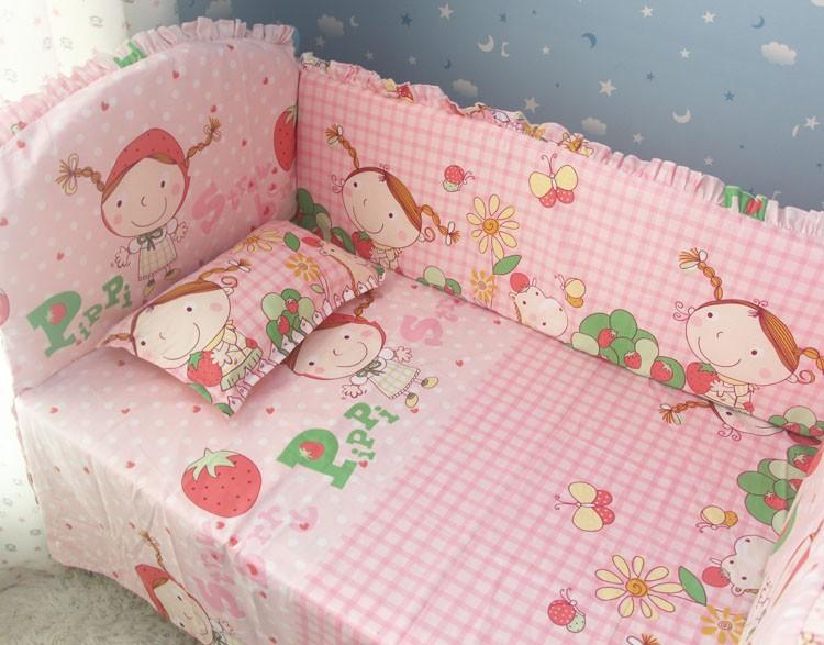 Продвижение! 6 шт. питомник постельных принадлежностей шпаргалки детская кроватка, мальчик постельных принадлежностей, бампер, бесплатная доставка включают ( бамперы + лист + )