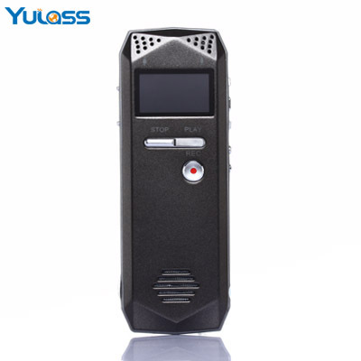 Yulass 4GB Audio Voice Recorder Dictaphone Grey USB Professional Voice Recorder Digital With MP3 Player REC(China (Mainland))