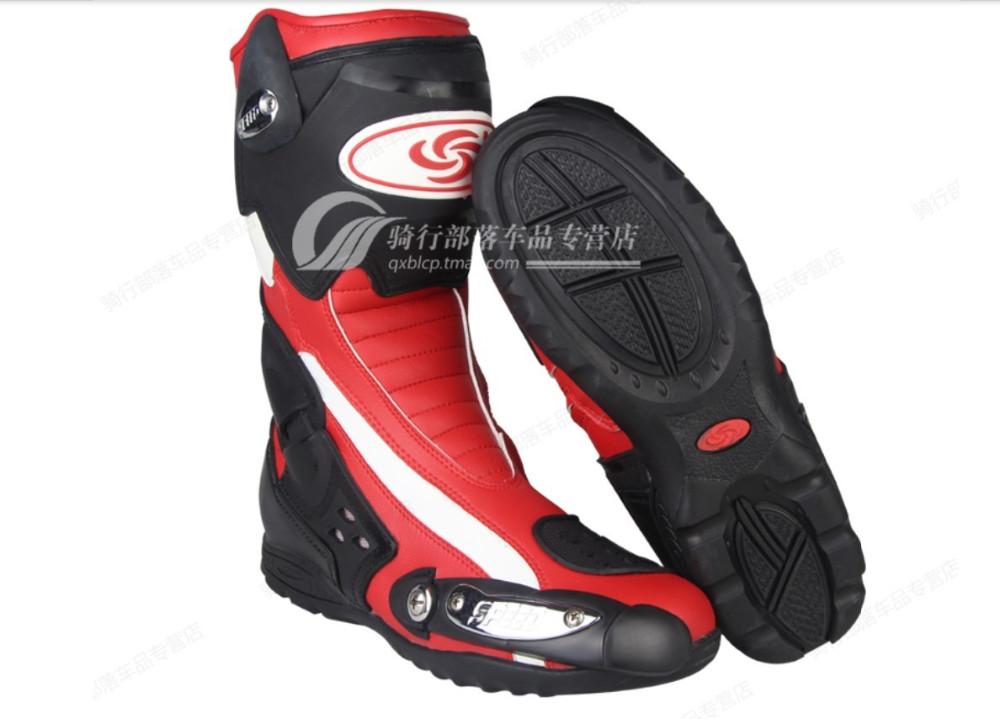 Купить Новые модели высокого качества мотоцикла сапоги Pro Байкер гонки сапоги мотокросс, мотоцикл обувь