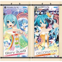 45X95CM Vocaloid Hatsune Miku Kagamine Rin Len KAITO cameltoe cartoon anime art wall picture mural scroll canvas painting poster