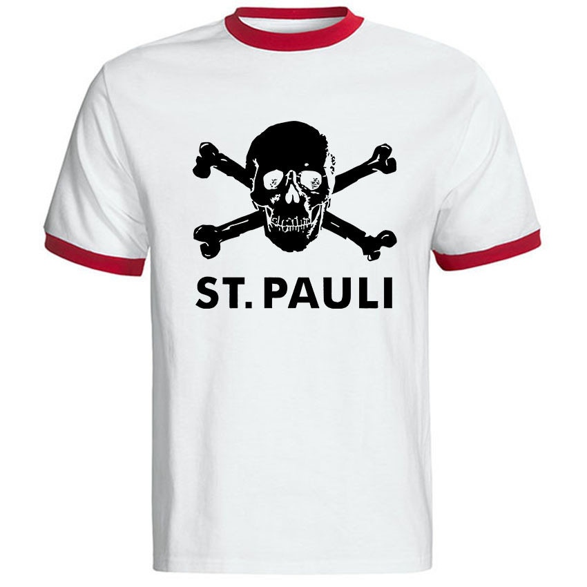 new summer men t shirt fashion cotton st pauli t shirt. Black Bedroom Furniture Sets. Home Design Ideas
