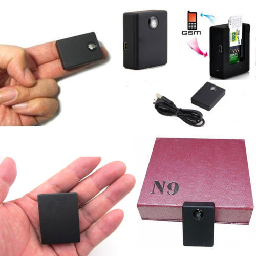 RealTime listening device Mini spy box GSM voice activated auto dialer N9(China (Mainland))
