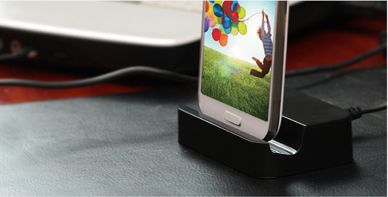Hot! Micro USB Base Desktop Charging Stand Station Dock Charger Adapter for Samsung Galaxy S4 S5 S6 Edge Note 3 4 Mobile Phones
