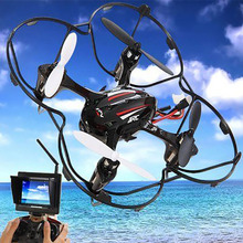 Mini JJRC H6D 2.4 GHz 6 Axis Gyro 2.0MP HD Camera 5.8G FPV Monitor Real time RC Quadcopter RTF Drone Helicopter