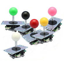 4pcs of Official original Sanwa JLF-TP-8YT joystick with 5-Pin Wiring Harness for Arcade Game Machine accessories/Cabinet Parts