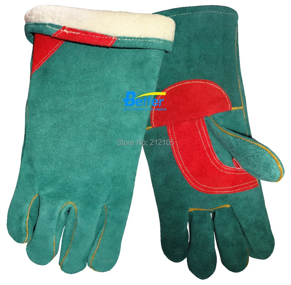 Road hustler leather work gloves