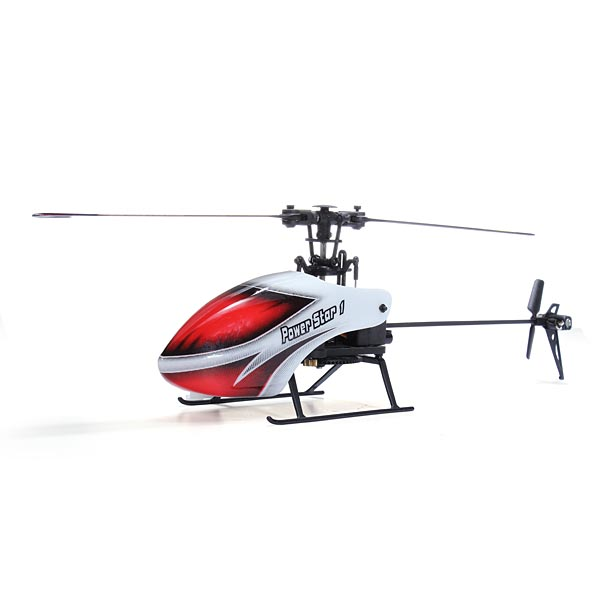 New arrival hot sale WLtoys V966 Power Star 1 6CH 6-Axis Gyro Flybarless RC Helicopter BNF(China (Mainland))