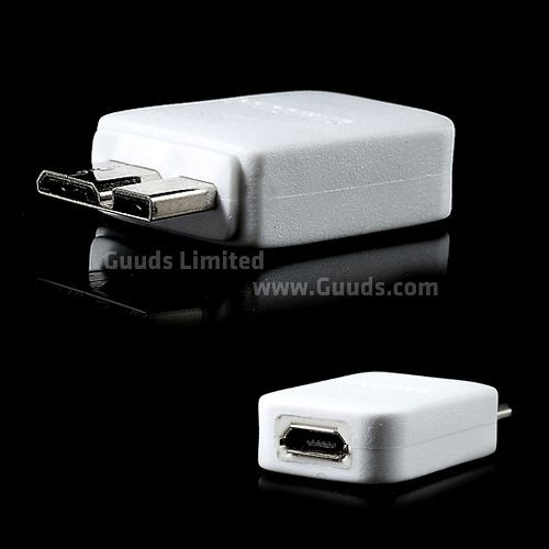 Micro USB 2.0 Female to Micro USB 3.0 Male Adapter for Samsung Galaxy S5 / for Galaxy Note 3