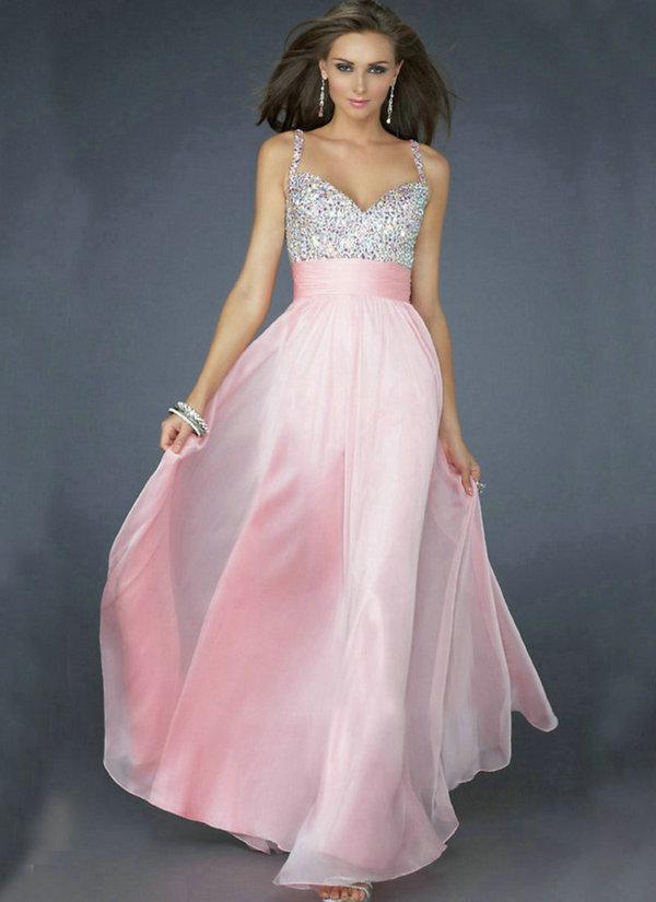 Water melon white lilac pink yellow blue chiffon spaghetti for White and lilac wedding dress