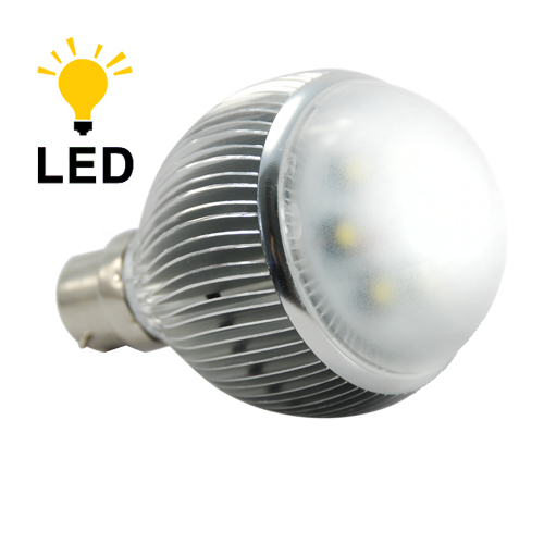 Led Light Bulb 6 Watt Warm White With Bayonet Base Save Energy Long Life In Led Bulbs Tubes