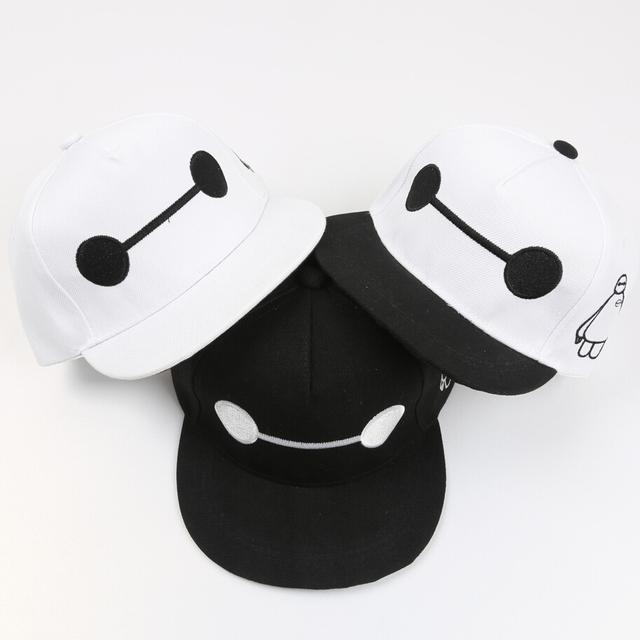 Мальчики-младенцы девочки большой Hero 6 бейсбол шляпы / дети дети комикс снэпбэк кепка свободного покроя солнце / хип-хоп шапки
