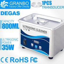 Ultrasonik Elektronik Sigara Temizleyici 800ML Banyo 60W 40KHz Dijital Degas Yıkama e-çiğ Yağ tankı püskürtücü Atomizer mod kutusu kiti(China)