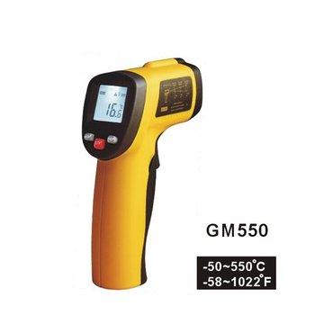 IR Infrared Laser Digital Thermometer Temp Wireless Gun temperature tester rule
