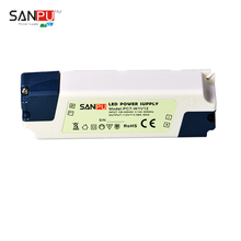 SANPU SMPS LED Driver 7w 12v Constant Voltage Switching Power Supply 110v 120v ac dc Lighting Transformer Indoor IP44 Plastic(China (Mainland))