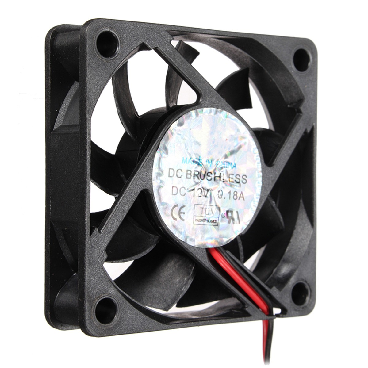 4Pin DC 12V 60mm x 60mm x 15MM Computer CPU Cooler Cooling Fan PC(China (Mainland))