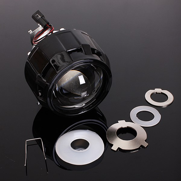 2.5 RHD Car Motor Bi-xenon For HID Projector Halo Lens Angle Eye Headlights Bulb Shroud H1 H4 H7<br><br>Aliexpress