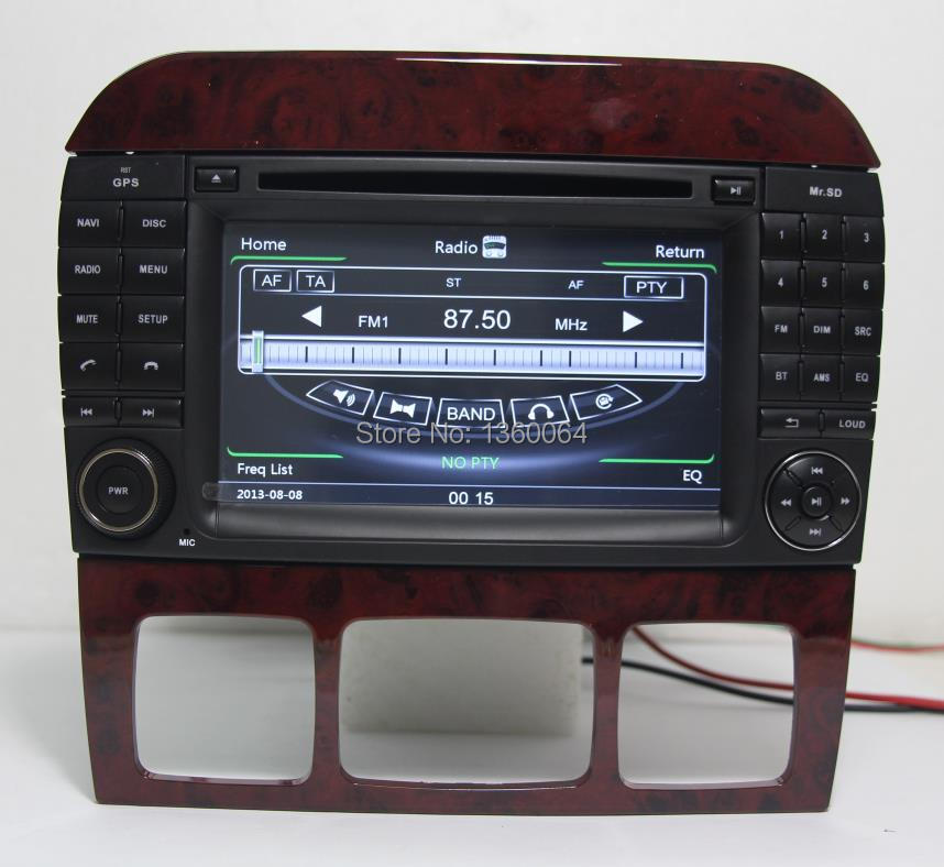 Aliexpress com buy free shipping 7 quot car dvd gps for mercedes benz s w220 s280 s320 s350 s400