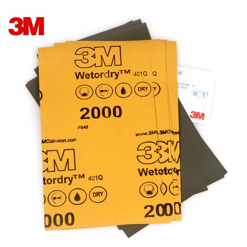 10 шт. / много для 3 м наждачная бумага 2000 вода наждачная бумага модное песок бумага qimian 2000 автомобиль вода наждачная бумага 401q