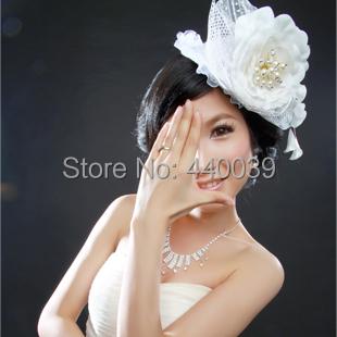 2016 новый баланс белые цветы корейский невесты головной убор свадебные аксессуары ...