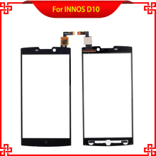 For INNOS D10 Touch Screen Digitizer Assembly 100% Tested Black Color Mobile Phone Touch Panel
