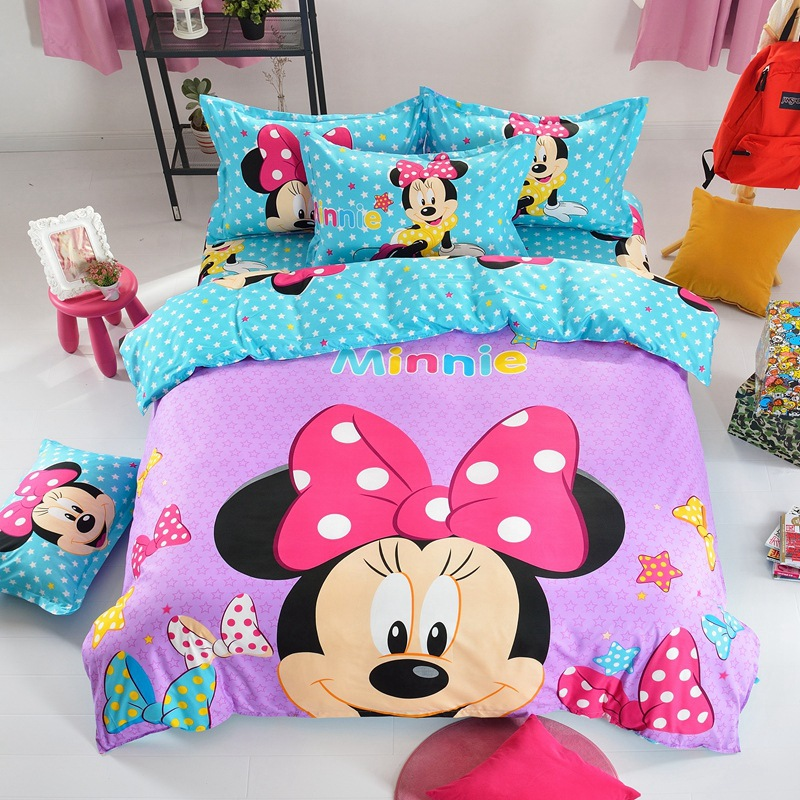 Popular kids bedding queen size buy cheap kids bedding for Housse couette foot