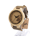 Bobobird D14 New Famous Brand Wooden Bamboo Wrist Watch Dress Style Nylon Strap Quartz Wristwatch Relojes