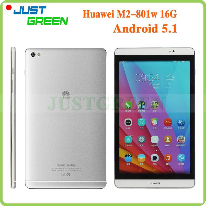 "8"" 1920X1200 HUAWEI Medipad M2 M2-801W Hisilicon Kirin930 Octa Core 3GB RAM 16GB ROM Android 5.1 Tablet PC 8.0MP Camera GPS WIFI(China (Mainland))"