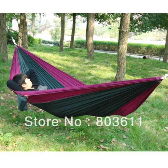 Best Backyard Hammock :  Hammock For Two Person Top #8in Hammocks from Furniture on Aliexpress