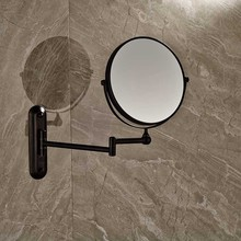 Bathroom Magnifying Mirror Extending Wall Mounted Double Side Round Folding Make Up Shaving Mirror (China (Mainland))