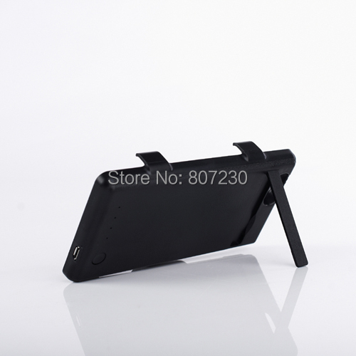 3500mAh External Backup Battery Charger Flip Leather Cover Power Bank for SONY Xperia Z1 Compact/Z1 mini M51W D5503