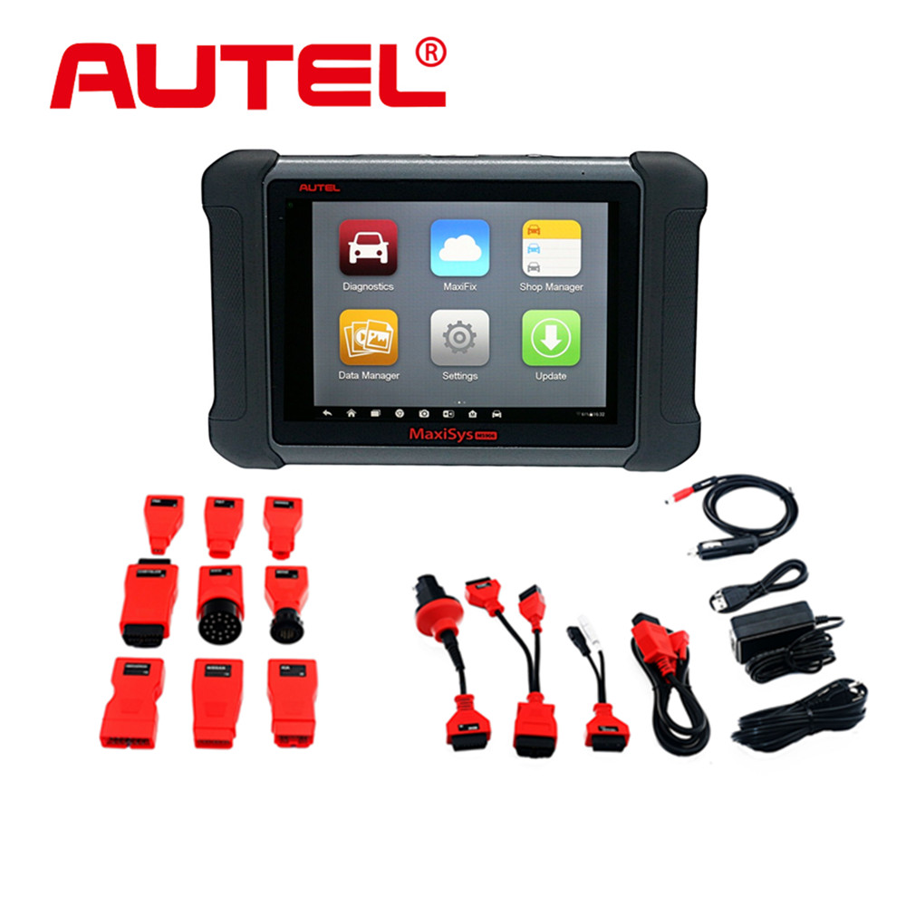 New Arrival! 100% Original AUTEL MaxiSYS MS906 replace of Autel MaxiDAS DS708 Diagnostic Tools Free Shipping(China (Mainland))