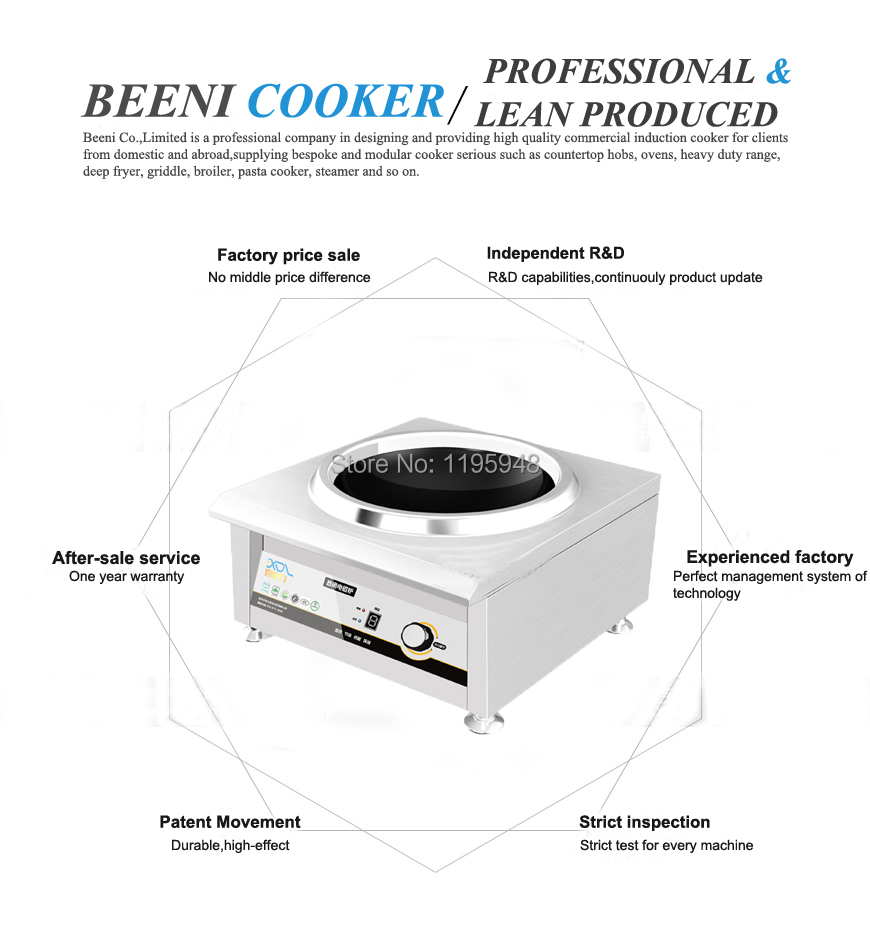 220v 3500w Countertop Commercial Induction Wok Cookerstainless Cooker Buy Circuit Boardelectric Cookerinduction 1 2