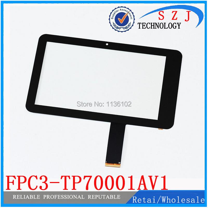Original new 7'' inch screen protector Freelander PD10 3G touch panel digitizer FPC3-TP70001AV2 FPC3-TP70001AV1 Free shipping(China (Mainland))