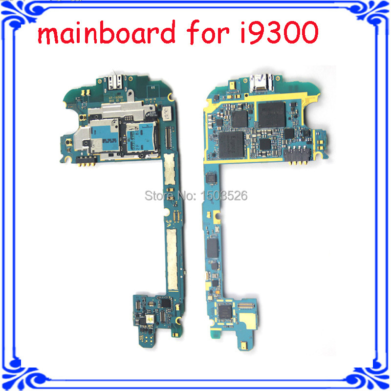wholesale price original Europea version unlocked motherboard for samsung S3 I9300 mainboard system board with chips logic board(China (Mainland))