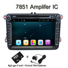 "Quad Core Pure Android 4.4 System  1024*600HD 8"" Capactive Screen GPS Navigation for Seat Leon Ibiza Passat B5 B6 Touran SWC(China (Mainland))"